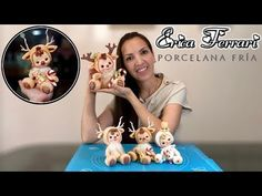 How To Make Christmas Doll Polymer Clay Ornaments, Cute Polymer Clay, Cute Clay, Polymer Clay Dolls, Polymer Clay Crafts, Diy Clay, Cold Porcelain, Porcelain Clay, Crea Fimo