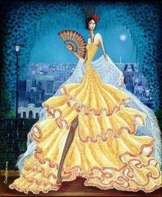 Obra de arte: Madrid nocturno Artistas y arte. Artistas de la tierra