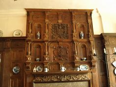 Fireplace at Benthall Hall designed by Thomas Farnolls Pritchard of Shrewsbury who also designed the Iron Bridge a few miles away in the Severn Gorge.