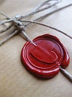 cuore e ceralacca - heart and sealing wax