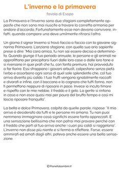 Testi sulla Primavera per la Scuola Primaria | PianetaBambini.it Hello Spring, Words, School, Quotes, Pinocchio, 1, Winter Time, Spring, Learning Italian