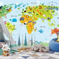 Looking for a best nursery wallpaper? Here it is! Educational, eco-friendly, beautiful, bespoke, customized and personalized free wallpaper for kids and children. More options in the Wallpaper section. Happy shopping!