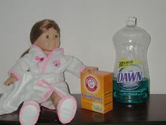 """Cleaning marks off vinyl dolls (or, """"how to clean up used dolls to give as gifts to unsuspecting children!"""")"""