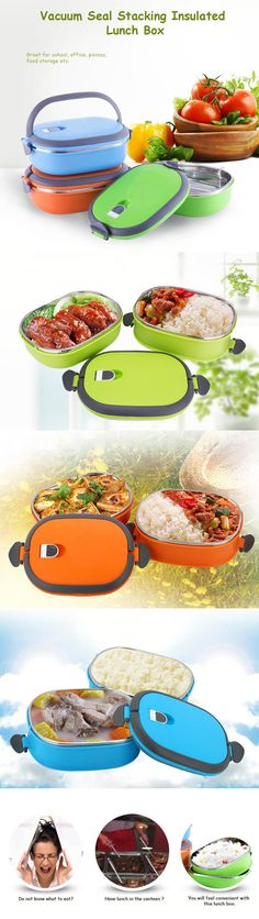 Insulated Lunch box, keeps your food hot.