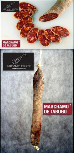 Chorizo ibérico de Bellota 'Marchamo de Jabugo'  'Sabor, calidad y tradición', el lema escogido por el Ministerio de Agricultura, Alimentación y Medio Ambiente para la celebración de esta Semana de los productos del Cerdo Ibérico, pueden resumir muy bien el producto de hoy, nuestro chorizo ibérico de bellota 'Marchamo de Jabugo'.  #chorizoiberico #blog #blogArtesanosIbéricos #embutidos #cerdoiberico #recetas #chef #gastronomia #ecommerce