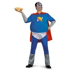 Buy costumes online like the The Simpsons Homer Pie Man Adult Costume from Australia's leading costume shop. Funny Adult Costumes, Superhero Halloween Costumes, Best Couples Costumes, Men's Costumes, Adult Halloween, Homer Simpson Costume, Simpsons Costumes, The Simpsons Show, Plus Size Costume