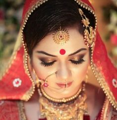 Indian bridal makeup looks inspiration 5