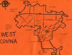 West Covina, CA. Where we first met in gym class at West Covina high school. West Covina High School, San Gabriel Valley, San Dimas, Baldwin Park, Los Angeles Area, Cartography, Vintage Pictures, California, City