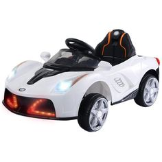 a28a9b261fc 12V Battery Powered Kids Ride On Car RC Remote Control w  LED Lights M –