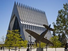 Check out the US Air Force Academy, in Colorado!