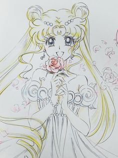 Princess Serenity (#Usagi Tsukino #Serenity #Sailor Moon #Bunny)
