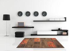 Teppich Fußboden Design USA New York Kaffee 160cmx230cm A100989
