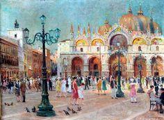 Franz Paul Guillery (1863–1933) German Painter ~ Blog of an Art Admirer