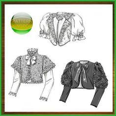 Butterick 4952 Mid-Victorian Social Walking Jackets Pattern