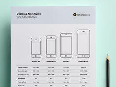 New iPhone Design Guide by Ugur Akdemir for Lemonat