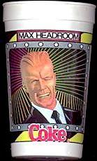 17cd8071df0 ❤Coca-Cola Max Headroom Cup Max Headroom