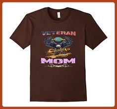 Mens veteran Mom shirt Small Brown - Relatives and family shirts (*Partner-Link)