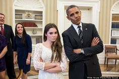 Obama, McKayla Maroney Are Not Impressed