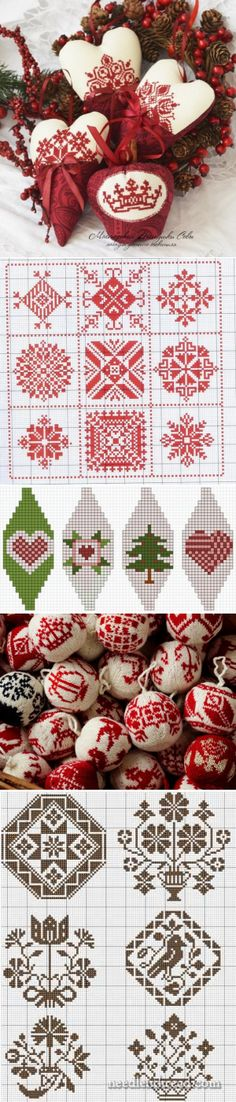 New Year's embroidery. Christmas Knitting, Christmas Cross, Christmas Balls, Christmas Ornaments, Merry Christmas, Cross Stitch Patterns, Quilt Patterns, Christmas Cooking, Hand Embroidery