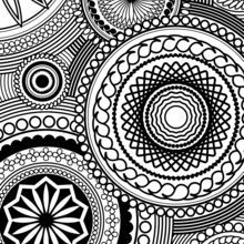 Adult Coloring Design coloring page