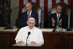 """WASHINGTON -- Pope Francis challenged Americans on Thursday (Sept. 24) to reject the kind of political conflict that """"sees only good or evil; or, if you will, the righteous and sinners."""" In the first speech ever by a pope to..."""