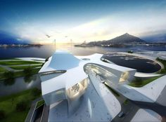 Busan Opera House Second Prize Winning Proposal (2)