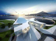 Busan Opera House Second Prize Winning Proposal (2)
