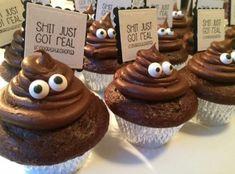 Shit just got real cupcakes graduation