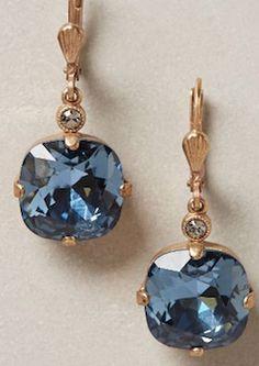 Anthropologie - Samarkand Earrings in Slate Jewelry Box, Jewelry Accessories, Fashion Accessories, Fashion Jewelry, Anthropologie Gifts, Schmuck Design, Diamond Are A Girls Best Friend, Beautiful Earrings, Indian Jewelry