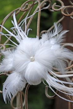 Flower Feather Goostrich White (http://www.save-on-crafts.com/feathers1.html)