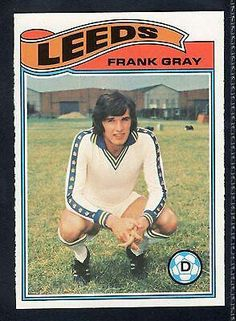 Frank Gray of Leeds Utd in Soccer Cards, Football Cards, Football Jerseys, Baseball Cards, Leeds United Football, Leeds United Fc, Liverpool, Sweden, The Unit