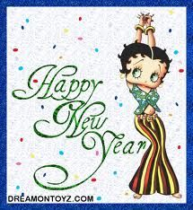 betty boop new years figurines google search