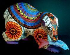 Alebrije, artesanía mexicana.