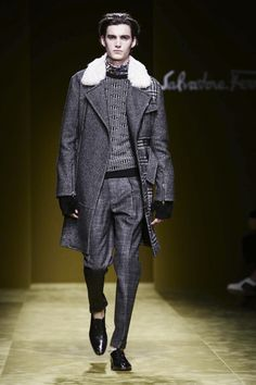 Salvatore Ferragamo Fall/Winter 2016 Menswear