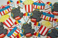 images of circus cookies | circus cookies | Cookie Connection