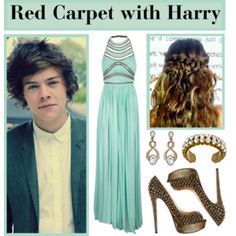 Forget Harry styles! Gimme that outfit!!! harry would just be in the way! Ha!