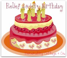 Relief Society Birthday Ideas