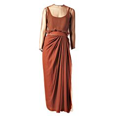 James Galanos Layered Chiffon Gown explore items from 1,700  global dealers at 1stdibs.com