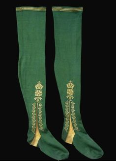 Stockings, 1750, England.