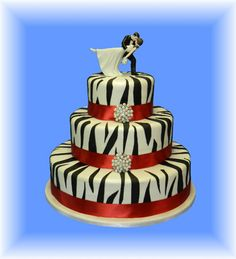 Gâteau de mariage - La Feerie