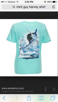 587a419fbb62 Guy Harvey shirt in mint 😍 Guy Harvey Shirts