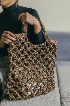 Beach Bag Pattern, Shopping Bag Pattern pdf, Market Shopping Bag, Crochet Bag, Beach Bag - Women's fashion and Women's Bag trends Bag Crochet, Crochet Market Bag, Crochet Shell Stitch, Crochet Handbags, Crochet Purses, Crochet Beach Bags, Diy Sac, Beach Tote Bags, Shopper Bag
