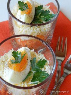 Bardzo dietetyczna sałatka na bazie marchwi i jajka (Diet salad based on carrots and eggs