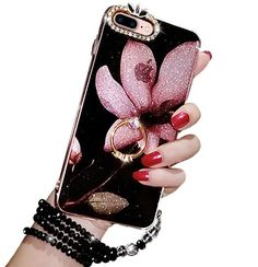 Protective Cover Case Luxury Bling Glitter Soft TPU Gel for Girls iPhone 7 Plus #ProtectiveCoverCase