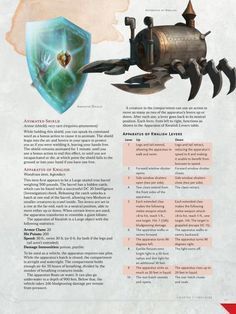 Some wondrous magic items from the fifth edition Dungeon Master's Guide.