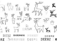 Deerz brand identity  afkomstig van: http://identitydesigned.com/deerz/  Credits Eskimo design studio Art director: Pavel Emelyanov Manager: Denis Gluschenko Photographer: Anatoly Vasiliev Photo set: Pavel Emelyanov, Maria Sinutina  Deer photo by Ray Hennessy.