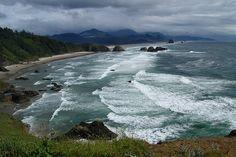 Oregon Coast near Tillamook
