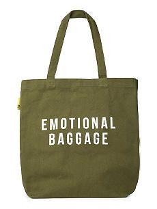 POLITE LTD Emotional baggage tote bag