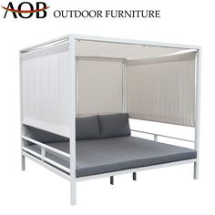 Chinese Modern Outdoor Garden Hotel Home Patio Furniture Aluminium Gazebo Sunbed Daybed Material : Aluminum. Frame Material : Aluminum. Style : Modern. Usage : Hotel, Hospital, School. Usage : Hotel, Hospital, School, Garden, Patio, Home, Villa, Resort, Poolside. Color : Grey. Customized : Customized. Condition : Hotsale. Frame : Powder Coated Aluminum. Accessory : with Stand. Warranty : 2years or 3years as Requests. MOQ : 30PCS. Chinese Modern Outdoor Garden Hotel Home Patio Furniture Alumini Aluminum Gazebo, Outdoor Daybed, Framing Materials, Bunk Beds, Villa, Powder, Patio, Grey, School