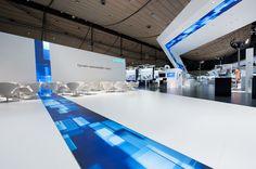 Sustainability on 3500 sqm - Siemens at HMI 2010   Triad Berlin